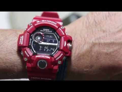 casio g shock gw a1100 manual