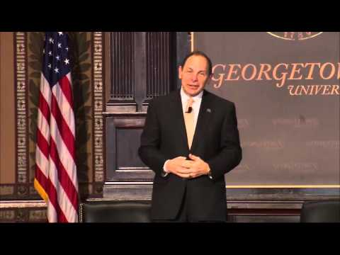 Secretary Bob McDonald at Georgetown University Leadership Forum