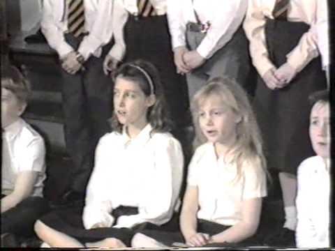 Oak Farm School Hillingdon - The Servant King - 10th April 1987