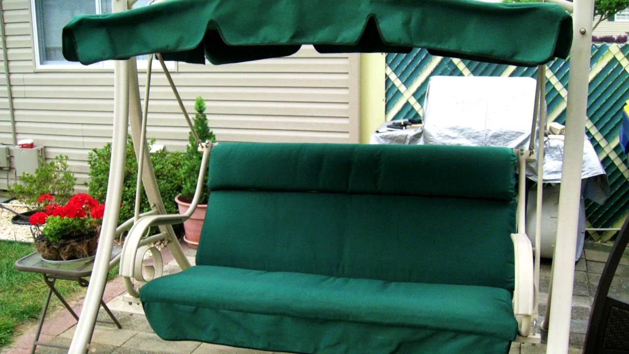 costco patio swing cushion and canopy replacement