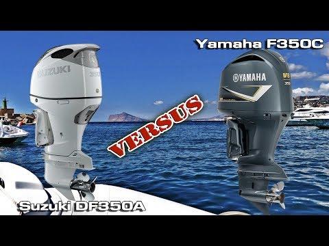 Suzuki Df350a V6 Vs Yamaha F350 V8 Outboard