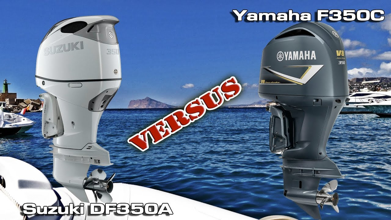 suzuki df350a v6 vs yamaha f350 v8 outboard doovi On yamaha f350 outboard problems