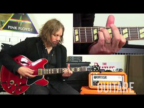Guitare Xtreme Magazine # 87 - A guitar lesson with Rich Robinson (Black Crowes/Magpie Salute)