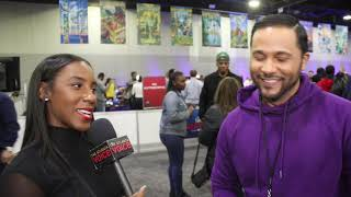 """We caught up with jason dirden who plays pastor basie skanks on the own tv show """"greenleaf"""" radio row! he will also appear american soul, a that w..."""