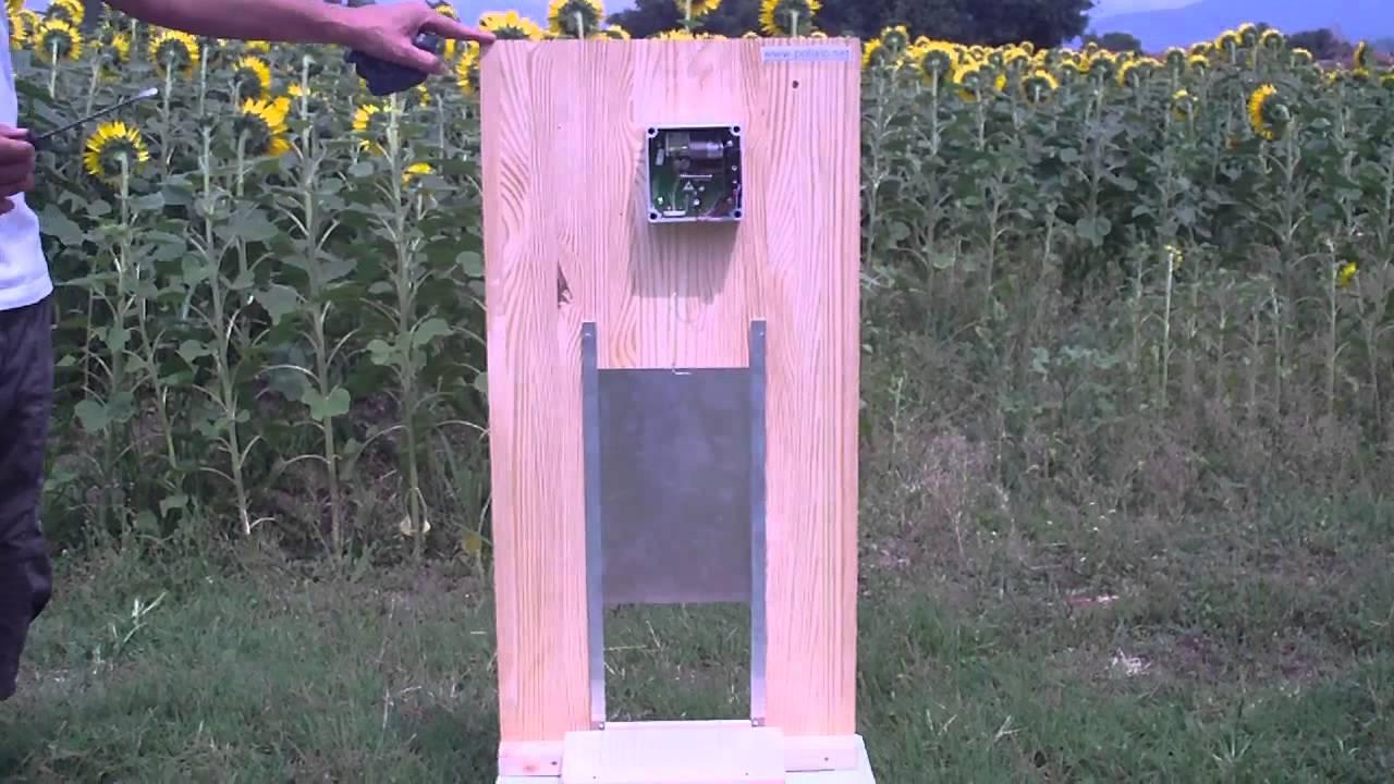 Porta automatica crepuscolare per pollaio youtube - Porta per soffitta ...