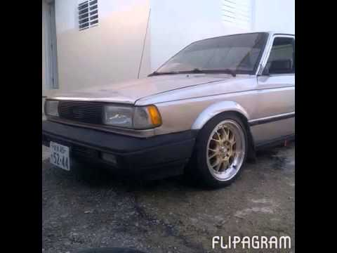 Nissan sentra B12 1989 - YouTube