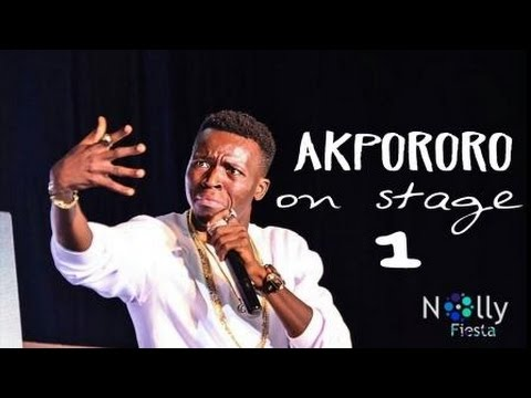 Video (stand-up): Akpororo Introduces His Mother at Akpororo Vs Akpororo 2015