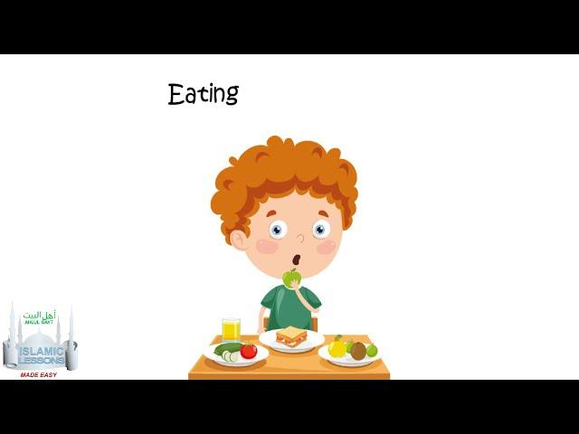 Kids Ahkam - Rules on Fasting