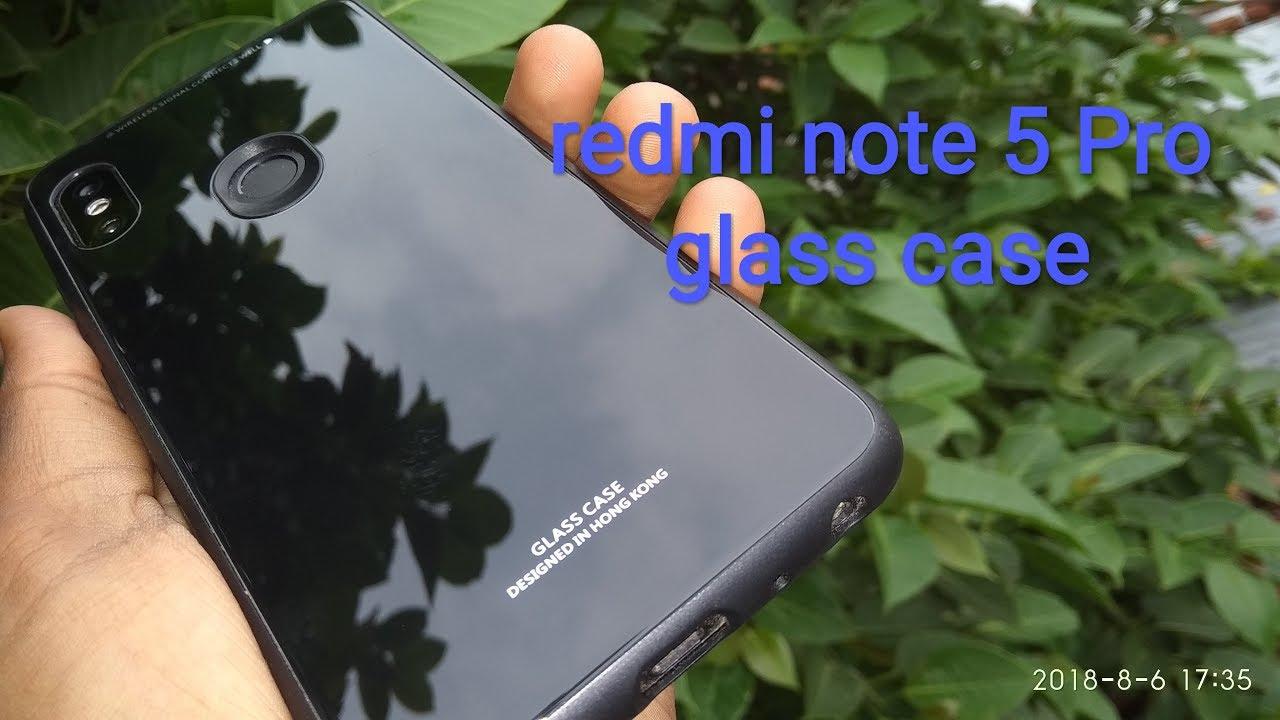 release date bc150 3ad09 Redmi note 5 Pro glass case black colour