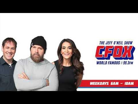 Gandy on CFOX 99.3FM