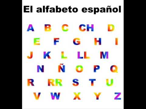 The Alphabet Song (Spanish) - YouTube - alphabet in spanish