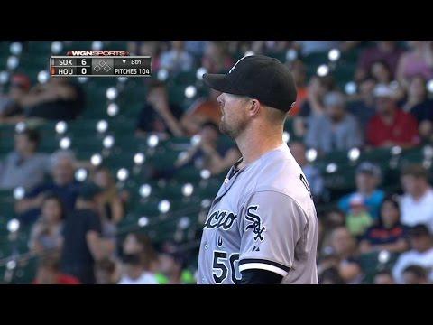 CWS@HOU: Danks strikes out six in shutout vs. Astros