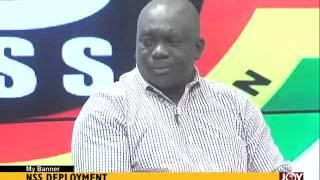 NSS Development - My Banner on Joy News (8-9-15)