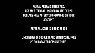 Free $20 Paypal
