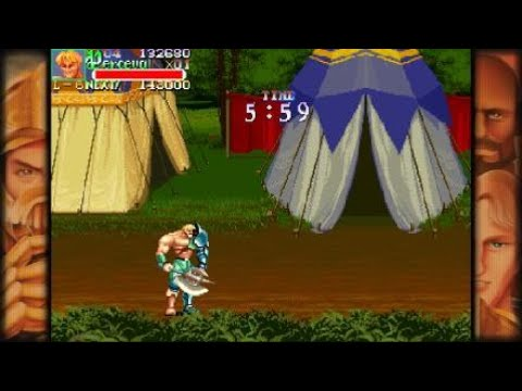 CAPCOM BEAT 'EM UP BUNDLE |  KNIGHTS OF THE ROUND Arcade  Playthrough pt 1 |