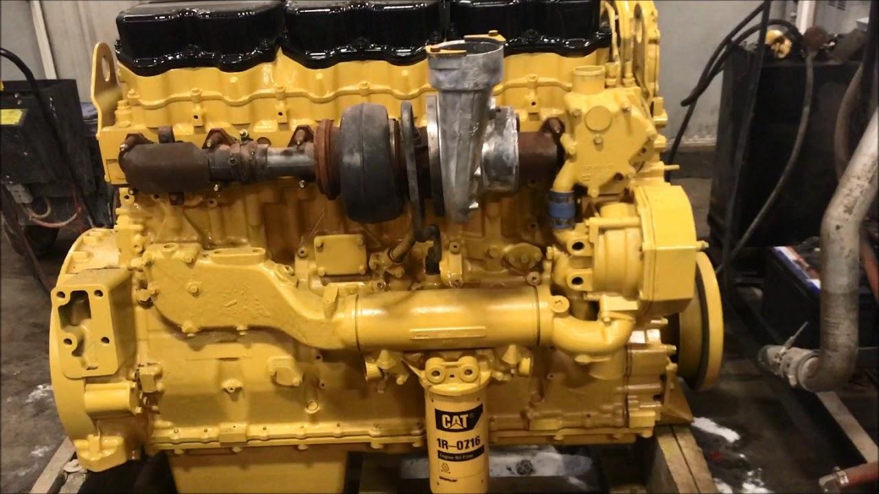 CAT C15 Engine Video (6NZ)