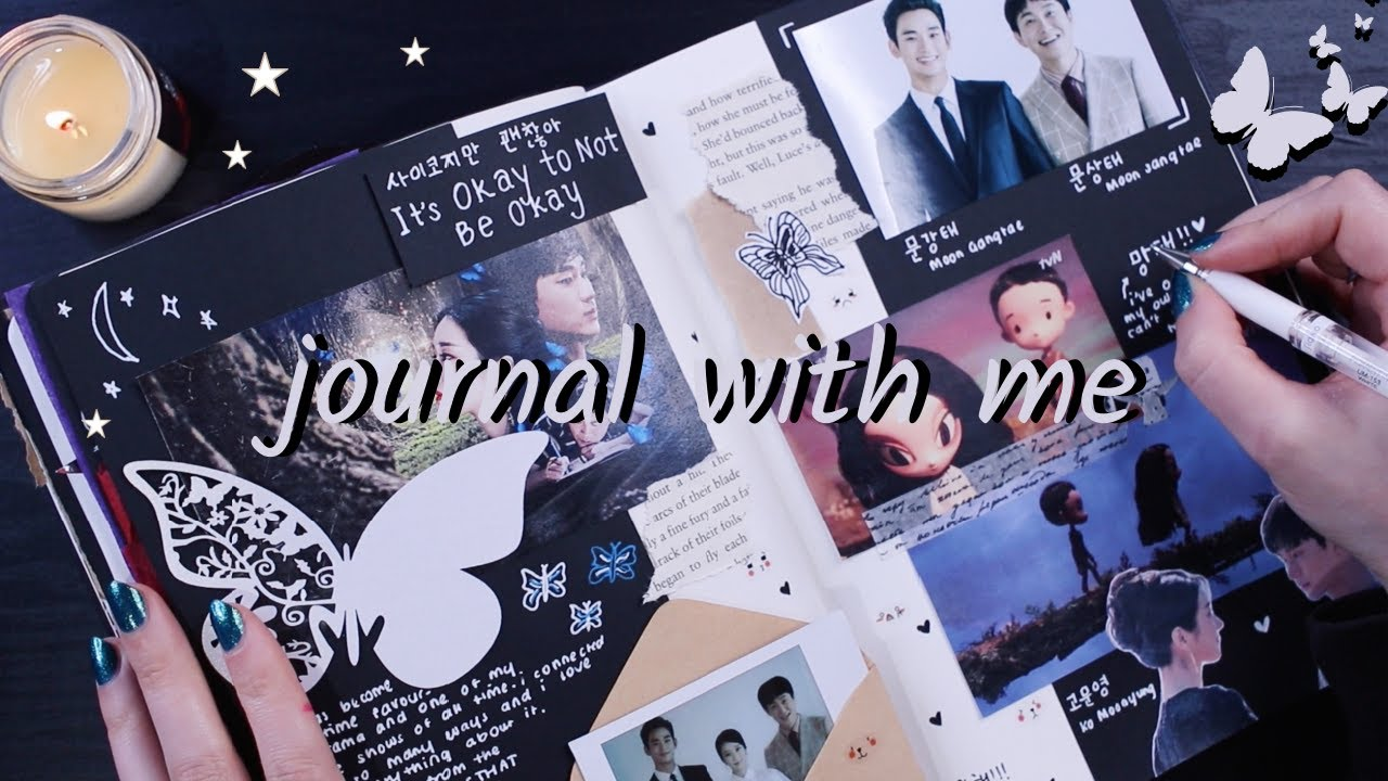 journal with me ☾ it's okay to not be okay