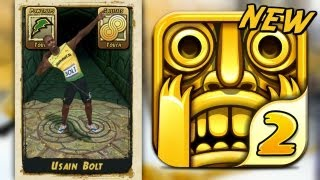 Temple Run 2 - USAIN BOLT (NEW CHARACTER) - Part 9 (iPhone Gameplay Video)