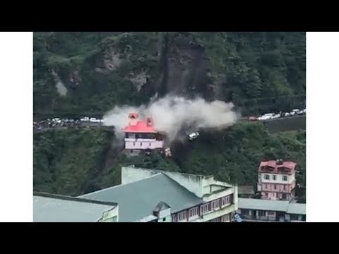 Landslide in Shimla, Himachal | 2 september 2017