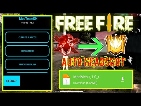 TERBARU CARA CHEAT FREE FIRE MOF MENU AUTO HEADSHOT TERBARU VIP 1.46.0 - 동영상