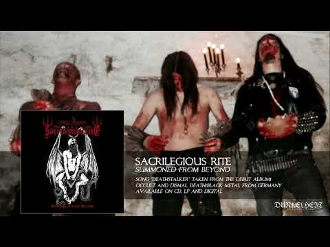 Sacrilegious Rite - Deathstalker (Occult and Dismal Death/Black Metal from Germany)