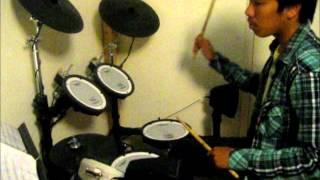 "Genshiken ED: ""Biidama"" on Drums"