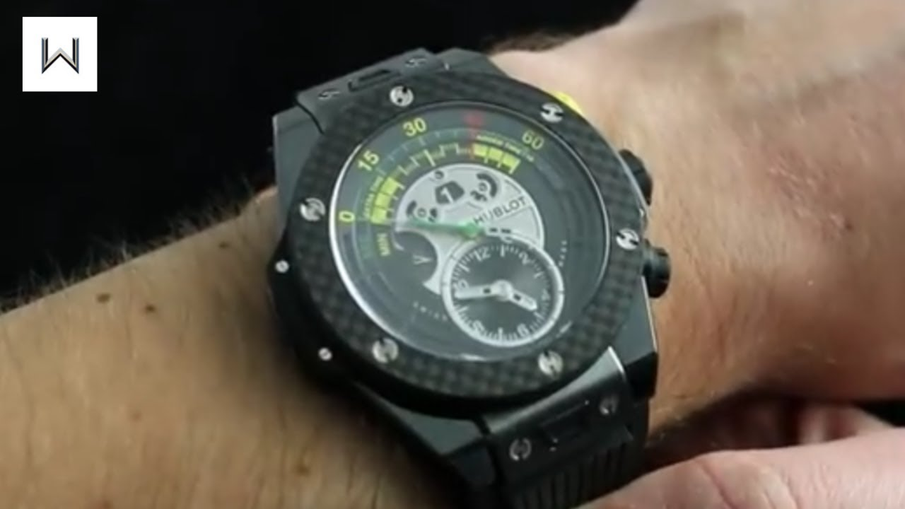 ba0d0998c Hublot Big Bang Unico Bi Retrograde FIFA 2014 Limited Edition Luxury Watch  Review