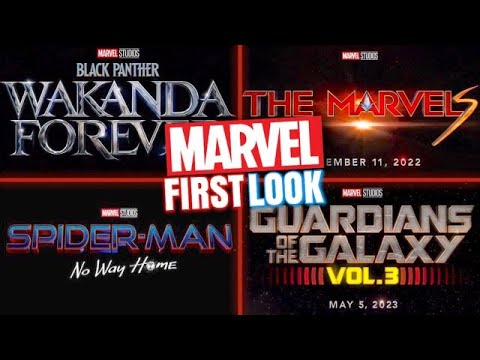 Marvel Phase 4 Teaser: The Eternals First Look, Black Panther Title ...
