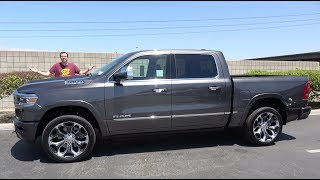 Download The 2019 Ram 1500 Limited Is a $65,000 Ultra-Luxury Truck Mp3 and Videos