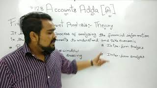 #128, Class 12 Accounts (Financial Statement Analysis: Theory)