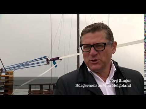Erfolgreicher Weltrekordversuch auf Helgoland / Deutschlands einzige Hochseeinsel Helgoland ist ab sofort die modernste TV-Gemeinde Deutschlands