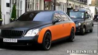 Luxury Cars in London! Maybach, Rolls Royce & Bentley Mulsanne