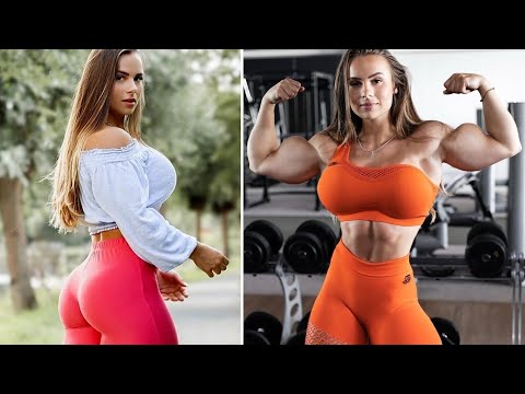 FEMALES BODYBUILDING, – EVA ENDRESSA, IFBB PRO, GYM WORKOUT,  FITNESS MODEL,