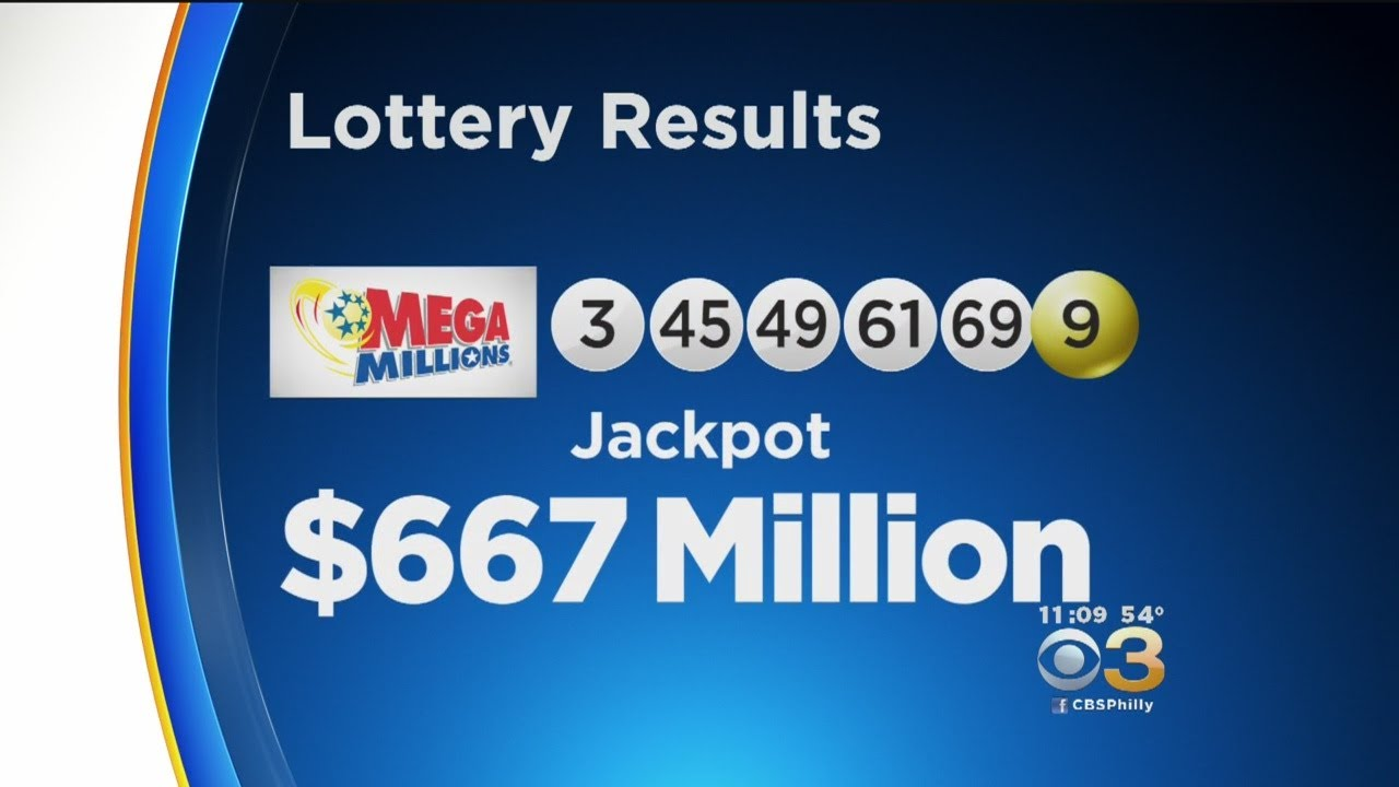 Winning Numbers Mega Millions Jackpot Now 667m 3rd Largest In Us History Youtube