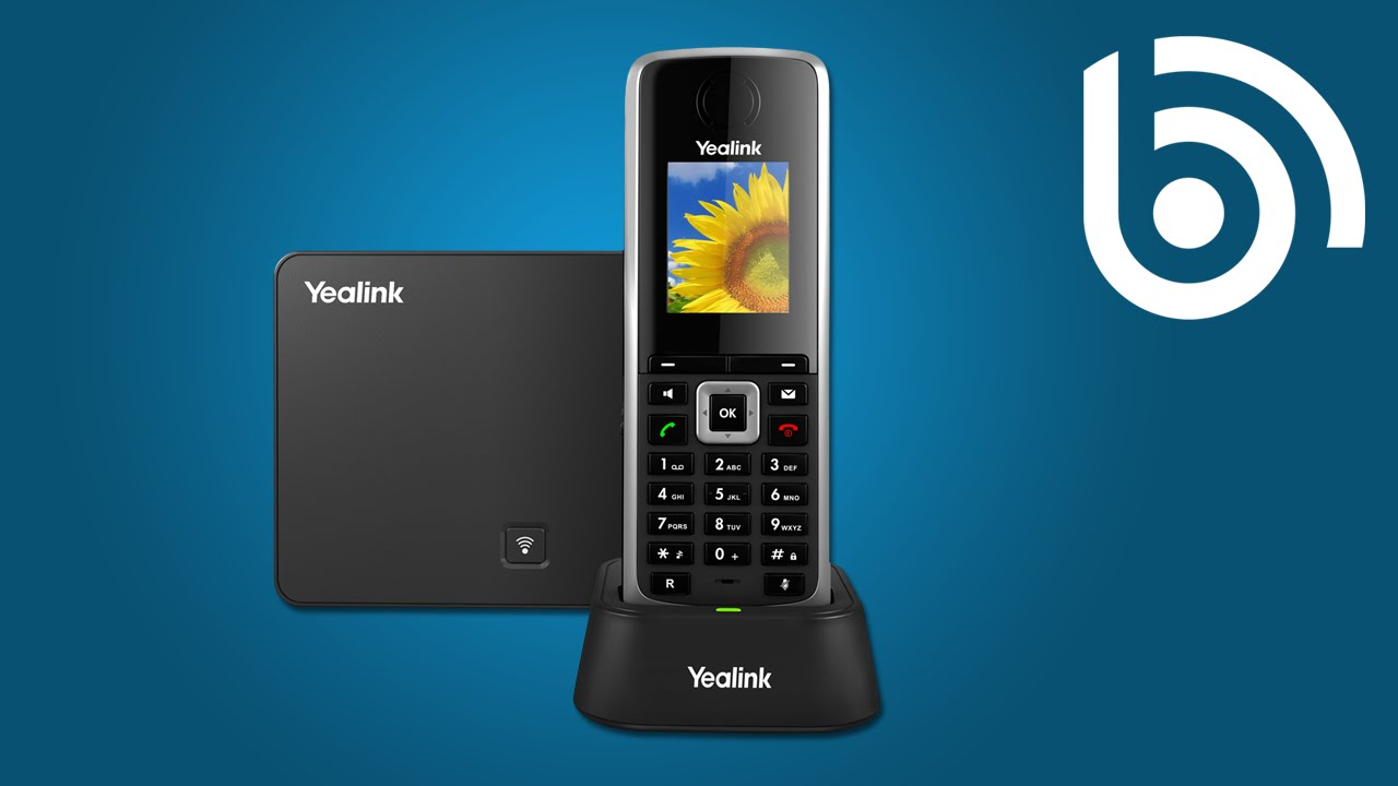 Yealink W52P Wireless Voice IP Phone for Business, Hotel