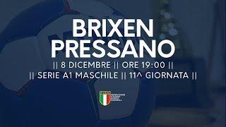 Serie A1M [11^]: Brixen - Pressano 21-23
