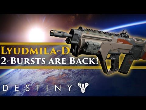 Destiny - Lyudmila-D Review: A Hakke Pulse that can 2 burst? It's good!