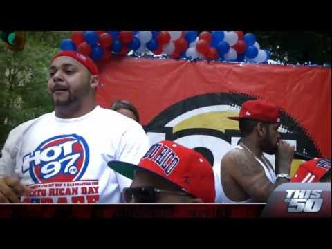 Lloyd Banks @ The Puerto Rican Day Parade Performing Start It Up Along With Joell Ortiz