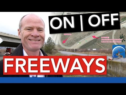 How to Get ON/OFF a Freeway | Road Test Smart
