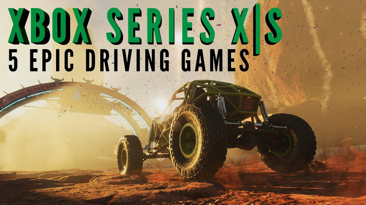 5 FUN driving games to show off your Xbox Series X|S