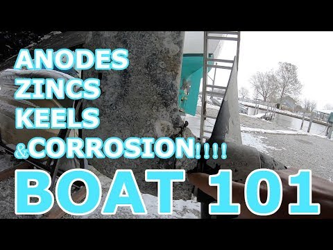 Anodes, Zincs, And Keels, Boat 101 - Episode 83 - Lady K Sailing