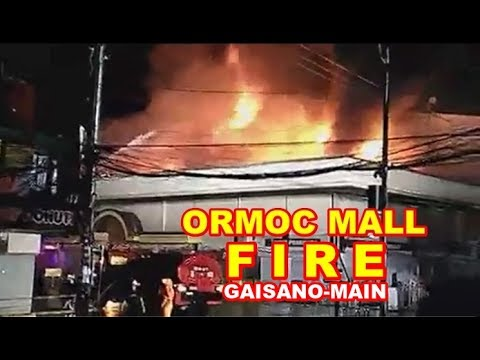 Raging FIRE of Ormoc Gaisano-Main