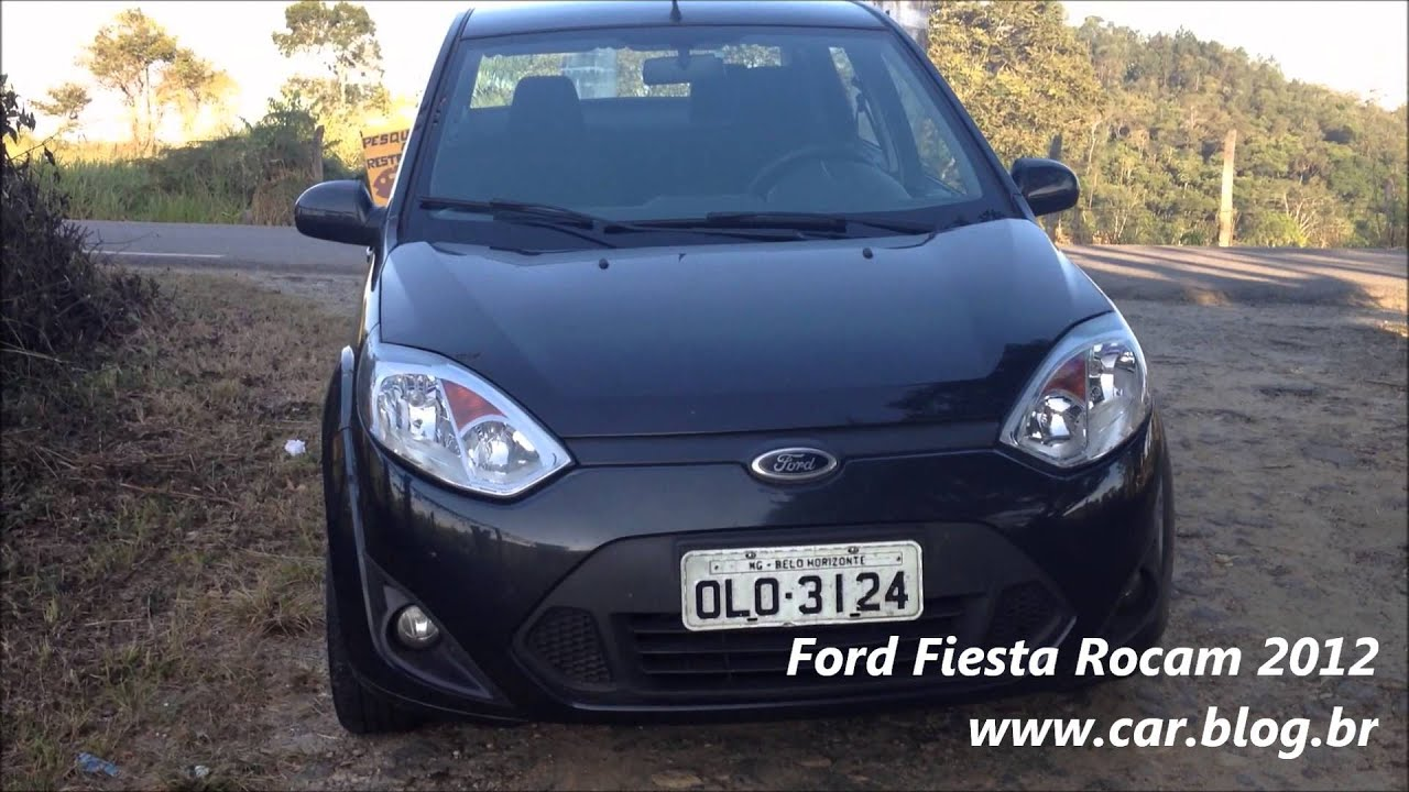 Ford Fiesta Rocam 2012 -  Car Blog Br