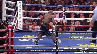 Floyd Mayweather Jr Vs Marcos Maidana (Mayweather highlights) Boxing Genius!