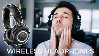 Audio Technica ATH-M50xBT | My Favorite Wireless Headphones | 2018!