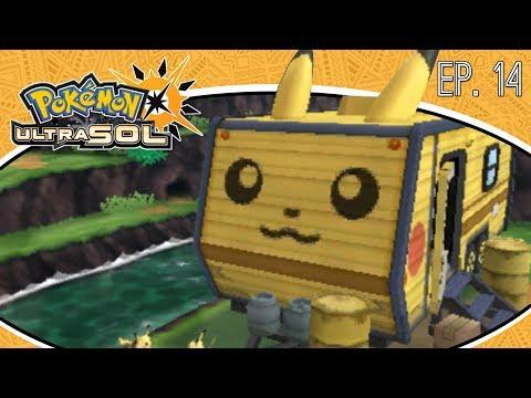 Pokémon Ultra Sol Ep.14 - EL VALLE DE LOS PIKACHU ESCONDE UN MISTERIO