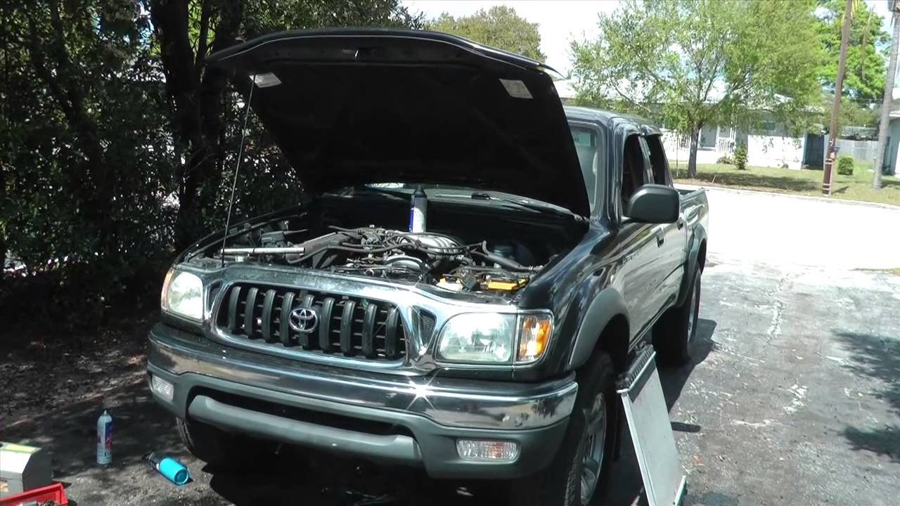 2002 Toyota Tacoma timing belt replacement on