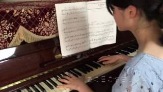 【ピアノ】映画『もののけ姫』よりアシタカとサン