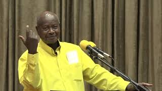 Museveni explains how God has promoted him from grass to grace