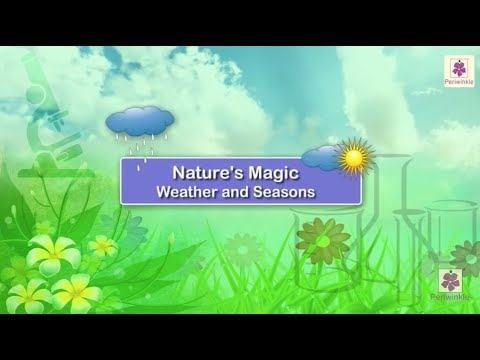 Weather And Seasons | Science For Kids | Grade 1 | Periwinkle
